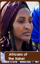 Fulani African women