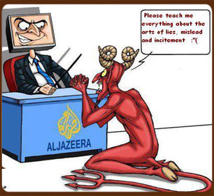 Al Jazeera is a liar