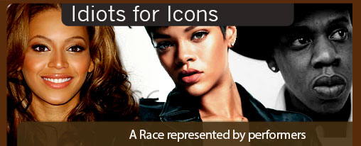 Celebrities for Icons, A race represented by singers and dancers