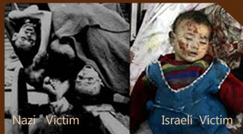 Death from Nazi and Zionist