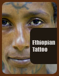 Ethiopian Tattoo Tigray