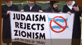 Jews reject Zionism