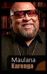 Maulana Karenga on Kwanzaa