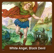 White Angel Black Devil