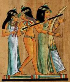 Musician in Ancient Egypt