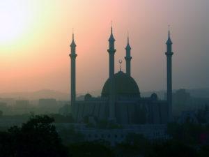 Mosque in Africa , Nigeria