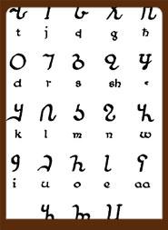 Osmanya-Alphabet of Somalia