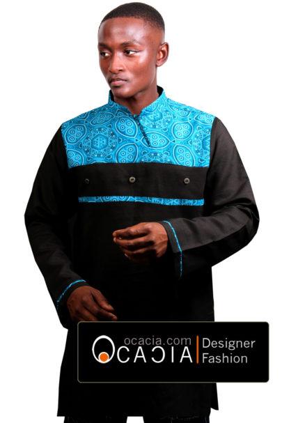 Sankara Blue shweshwe www.ocacia.com