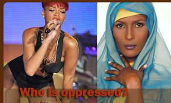 Hijab oppressing Women