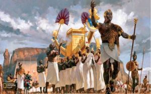 Painted by European revisionist depicting Race in Ancient Egypt
