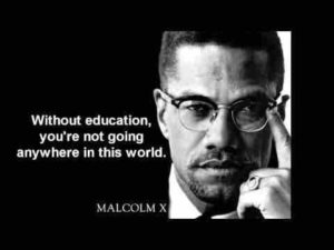 Black Lives cannot matter if we are not educated about self