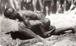 Jola wrestling Gambia