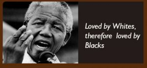 Mandela Was made a hero of Africa by Whites