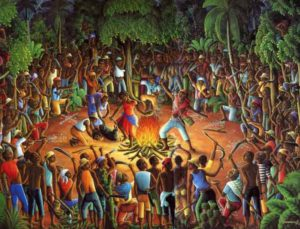 Origins of Vodon are African