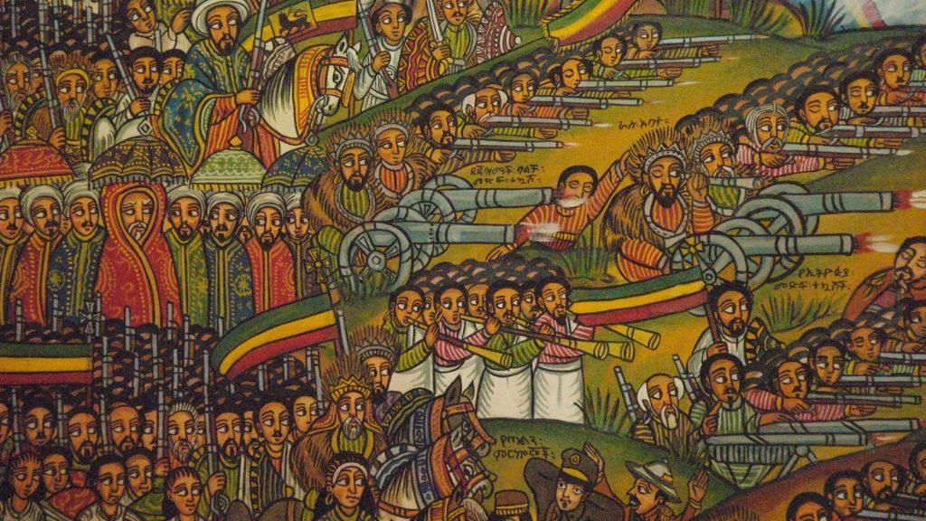 Adwa Battle Ethiopia v Italy