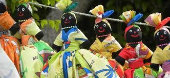 Bajan African influenced Dolls