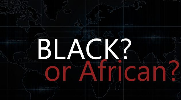 Black or African | We are more than a color