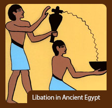Libation in Ancient Egypt
