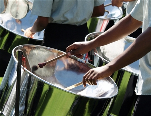 Steeldrums Barbados originating from neighboring Trinidad these were invented by Enslaved Africans